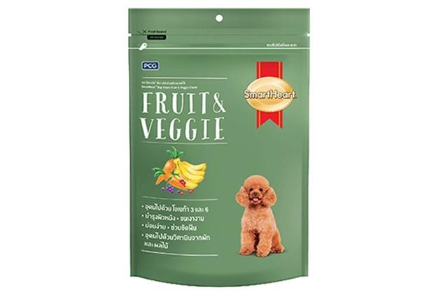 PCG SmartHeart - Bánh Thưởng cho Chó Vị Trái Cây và Rau Củ