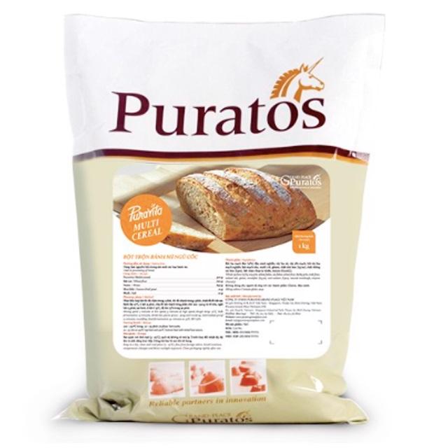 Puratos Grand Palace - Bột Trộn Bánh Mì Ngũ Cốc Puravita Multicereal