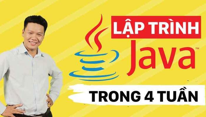 Giới thiệu khóa học Lập Trình Java Trong 4 Tuần