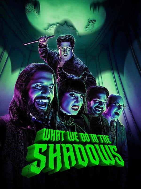 Poster chính thức củaChúng ta làm gì trong bóng tối mùa 2 được chiếu trên Hulu.