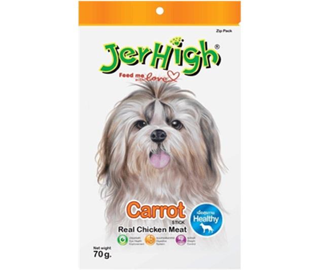 Jerhigh - Snack cho Chó Vị Cà Rốt
