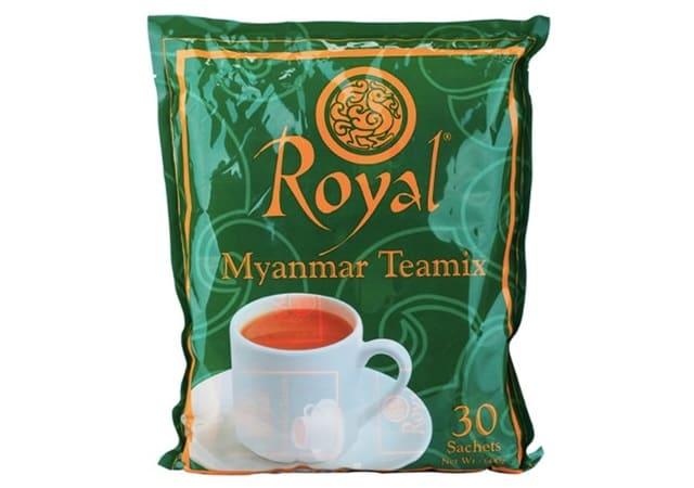 Myanmar Lion - Bột Trà Sữa Hoà Tan Royal Myanmar Teamix