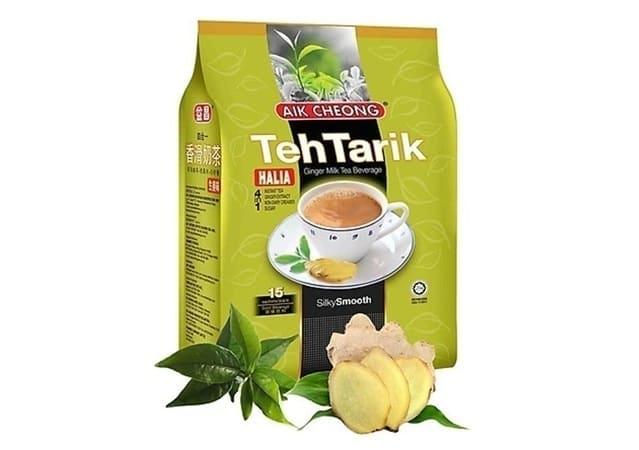 AIK CHEONG - TehTarik Bột Trà Sữa Hoà Tan Vị Gừng