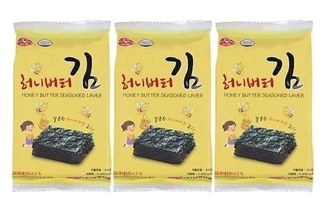 Namkwang Food - Rong Biển Khô Tẩm Bơ Mật Ong