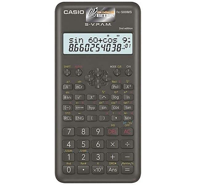 CASIO - FX-500MS NEW
