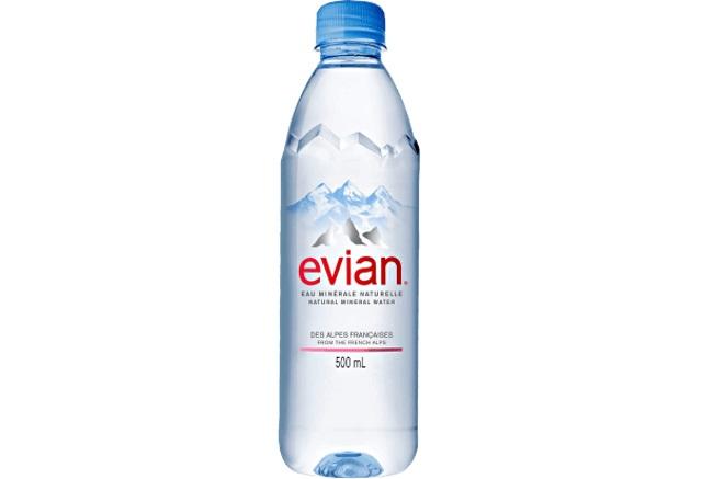 Evian - Natural Mineral Water