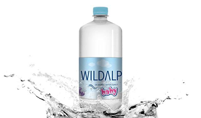WILDALP - Baby Mineral Water 1L