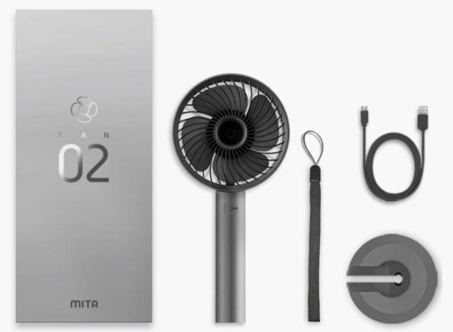 Mita - Quạt Mini Cầm Tay Fan-02