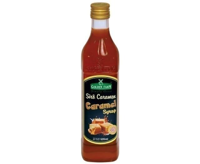 Cánh Đồng Vàng - Siro Caramel Golden Farm