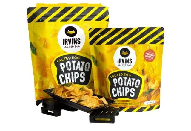 Irvins - Snack Khoai Tây Vị Trứng Muối