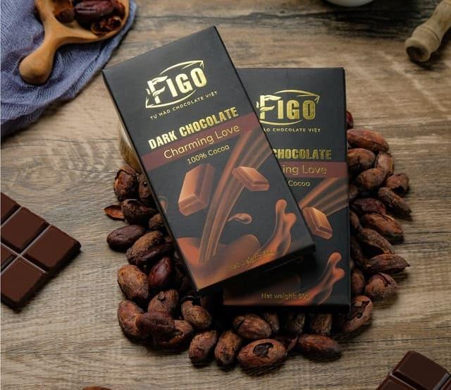 FigoSocola Đen Đắng 100% Cacao