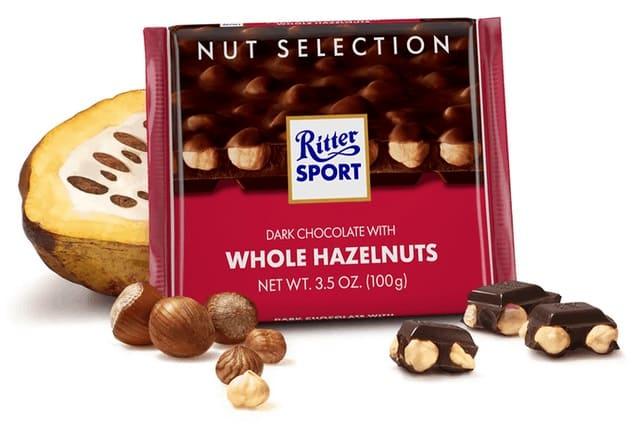 Ritter Sport - Dark Whole Hazelnuts