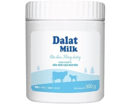 Dalatmilk - Sữa Chua Ăn Không Đường