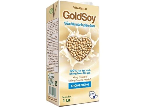 Vinamilk - Sữa Đậu Nành Không Đường GoldSoy