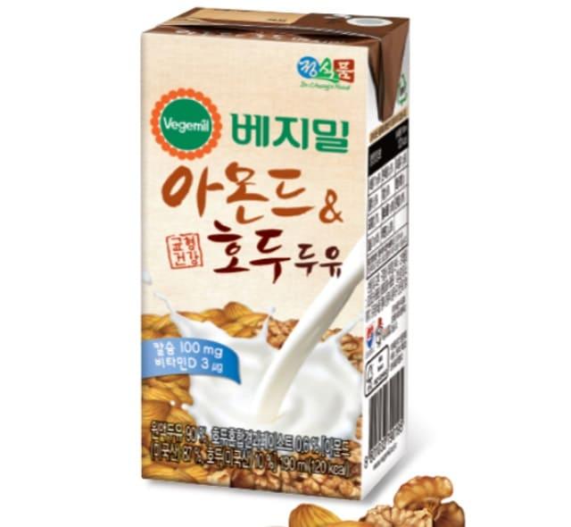 Dr.CHUNG'S FOOD - Sữa Đậu Nành Hạt Óc Chó & Hạnh Nhân Vegemil