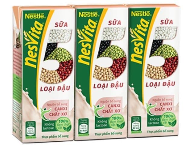 Nestlé - Sữa 5 Loại Đậu Nesvita