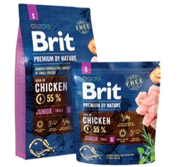 Brit - VAFO PRAHA - Thức Ăn cho Chó Con Premium by Nature Junior S