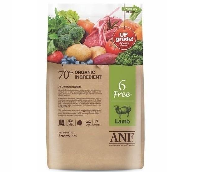 ANF - Thức Ăn cho Chó Con Hữu Cơ 6 Không Thịt Cừu