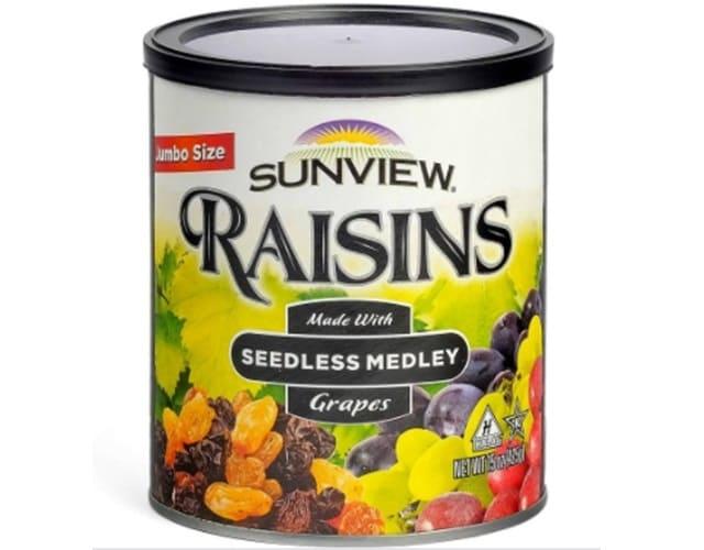 Raisins Sunview - Nho Khô Mỹ