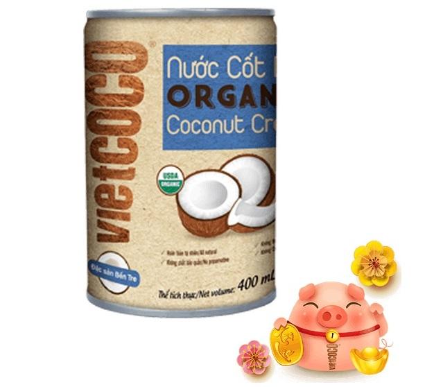 Luong Quoi Coconut - Nước Cốt Dừa Vietcoco Organic Coconut Cream