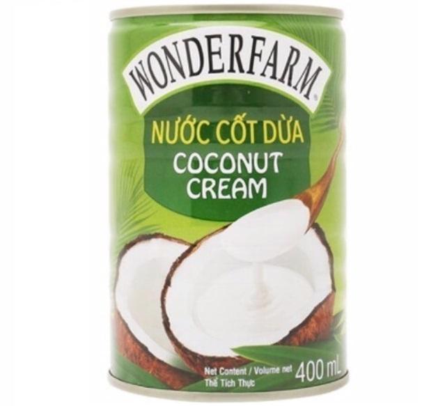 Wonderfarm - Nước Cốt Dừa Coconut Cream