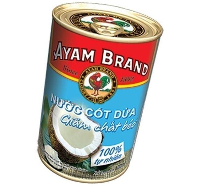 AYAM SARL - Nước Cốt Dừa Ít Béo Premium Light Coconut Milk