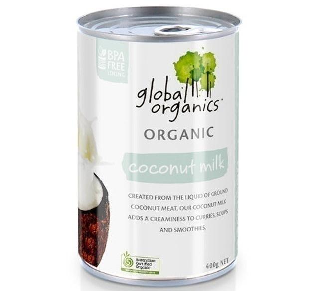 Global Organics - Organic Coconut Milk