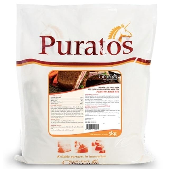 Puratos Grand Palace - Bột Trộn Bánh Mì Lúa Mì Đen Puravita Dark Rye IM-EAR-03