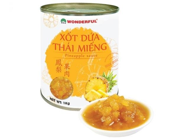The Wonderful Food - Sốt Dứa Thái Miếng