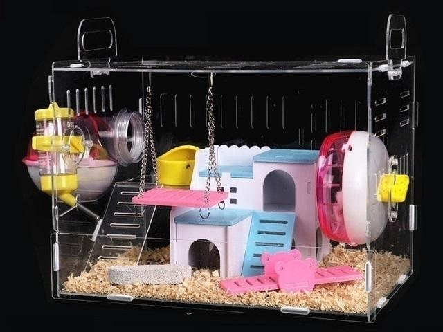 Hateli - Lồng Hamster Mica