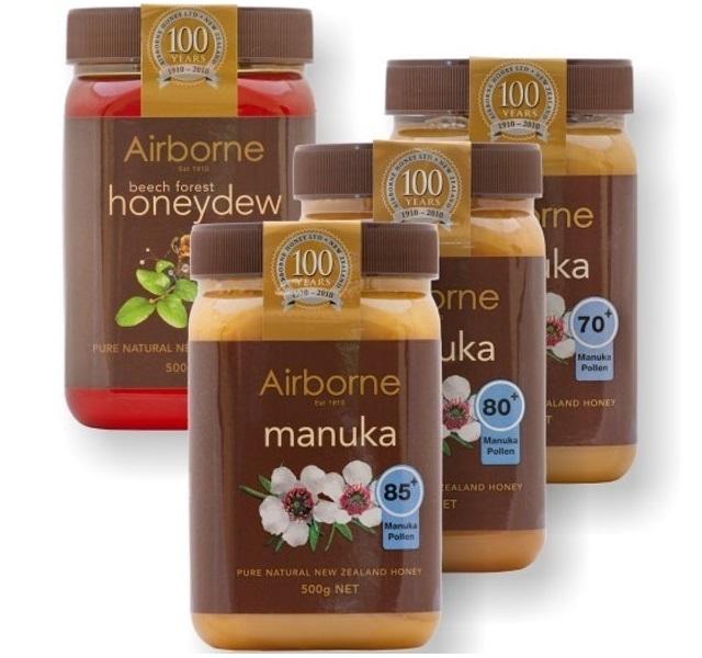 Airborne - Health Honeys Mật Ong Manuka 70+