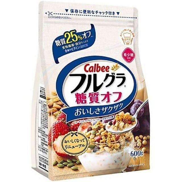 Calbee - Ngũ Cốc Frugra Giảm 25% Carbonhydrate