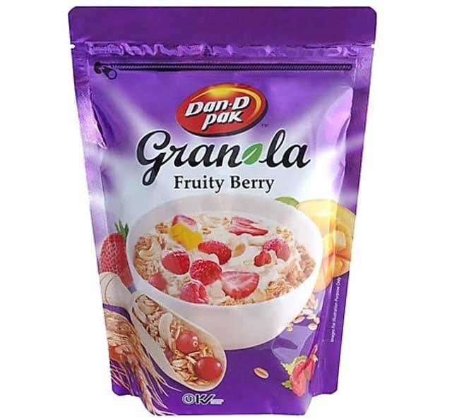 Dan D Pak - Ngũ Cốc Ăn Kiêng Granola Trái Cây Fruitty Berry