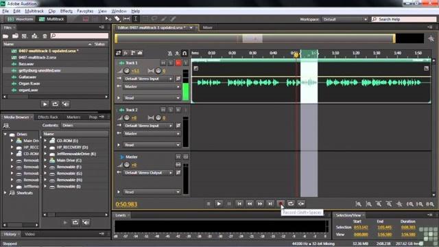 Adobe Audition là phần mềm cung cấp các chức năng hỗ trợ ghi âm với chất lượng cao